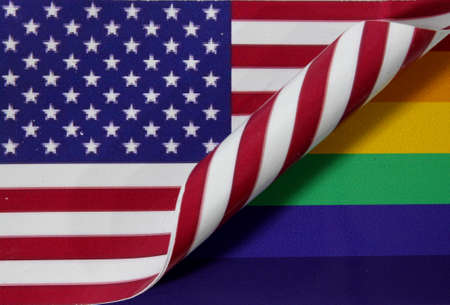 Rainbow Flag USA