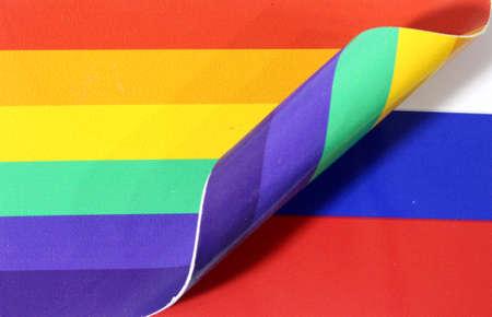 Rainbow Flag Russia