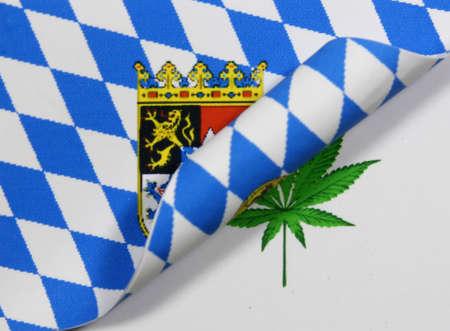 Bayern Flag Cannabis