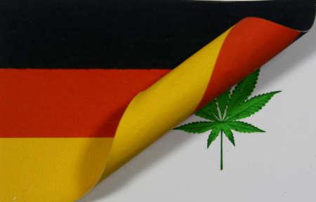 Germany Flag Cannabis