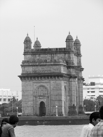 This is the Gate Way of India in Mumbai harbour.