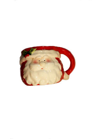 Christmas Santa Clause Mug. A very nice candy jar.