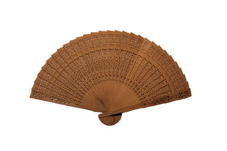Nice Wooden Fan. Excellent for those warm days
