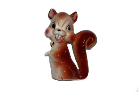 Ceramic Squirrel Decoration