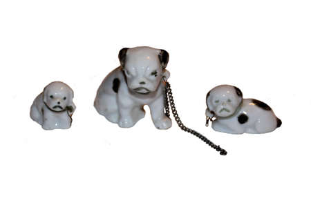 Ceramic Dogs Decorations