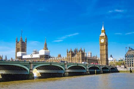 London Sightseeing on a beautiful day