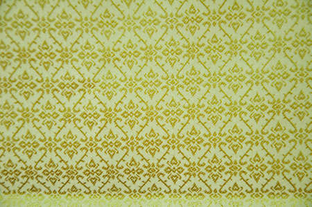 Thai silk fabric texture background Stock Photo - 9628029