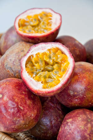 Passion fruit Stock Photo