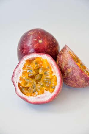 passion fruit  on white background Stock Photo - 10538915