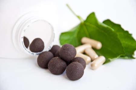 Alternative medicine make good health and good life photo
