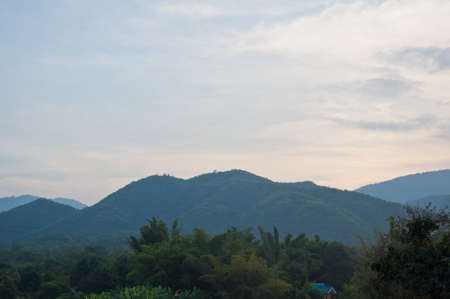 Landscape of western of Thailand