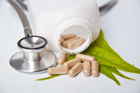 Alternative medicine make good health and good life Stock Photo - 11437872