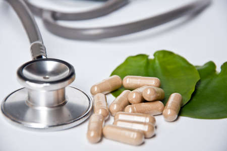 Alternative medicine make good health and good life Stock Photo