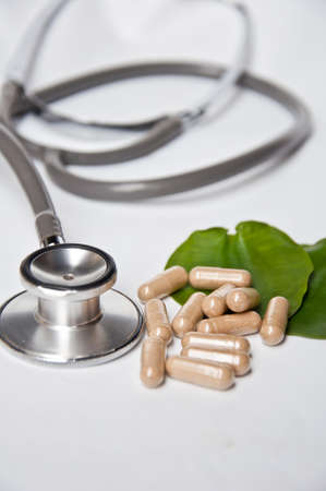 Alternative medicine make good health and good life photo