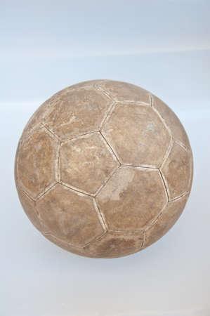 old football on white background Stock Photo - 13186009