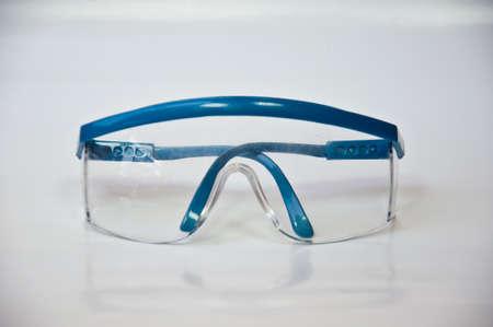 protection eyeglass on white background Stock Photo - 13300099
