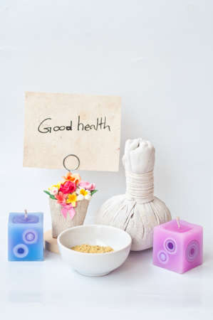 good health from massage ans spa Stock Photo - 14716477