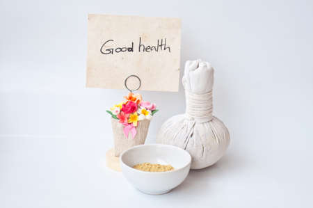 good health from massage ans spa Stock Photo - 14716475