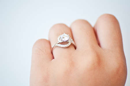 diamond ring  for wedding photo
