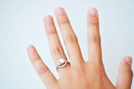 diamond  ring for weeding Stock Photo - 15393926