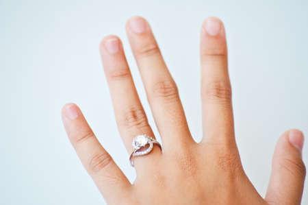 diamond  ring for weeding Stock Photo - 15393926