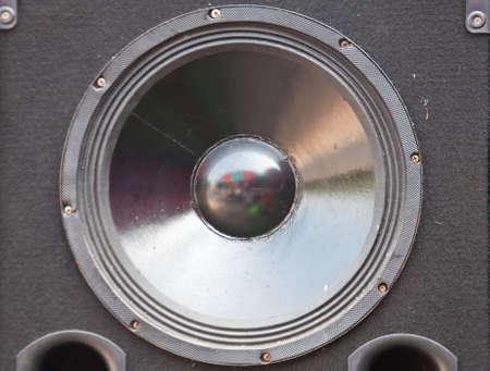 subwoofer speaker for power audio photo