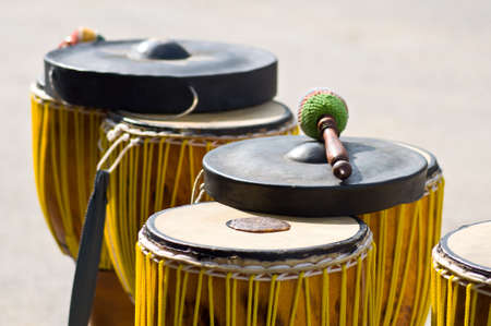 Thai traditional drum for folk dance