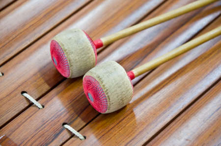 Thai xylophone musical instrument from Asia