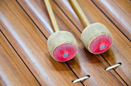 tuneful: Thai xylophone musical instrument from Asia