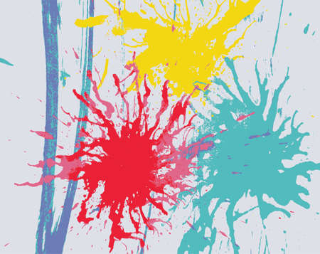 abstract art background: abstract art background from water color Illustration