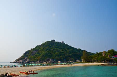 nangyuan: beautiful beach KOH NANGYUAN Island Surat Thani Thaland Stock Photo