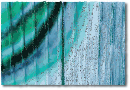 zinc: abstract art on zinc plate Illustration