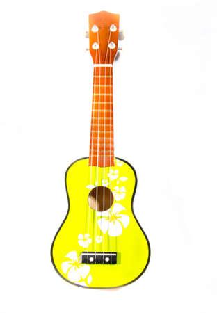 Ukulele guitar on white background Stock Photo