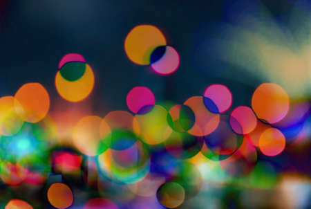 abstract of defocus of light background