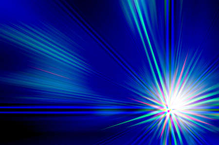 abstract  blue color with motion blur background