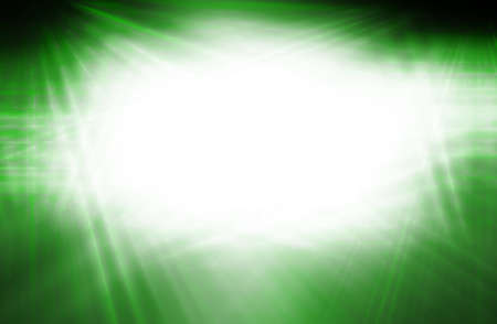 grren: abstract  green  color background with motion  ray technology Stock Photo