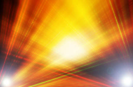 abstract  golden  color  background with motion  ray