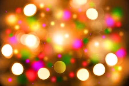 blurr: defocus of multicolor  light  background