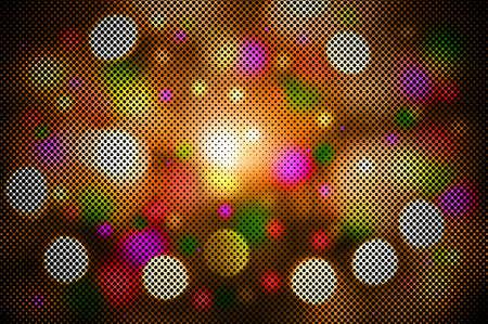 defocus: defocus of multicolor  light  background
