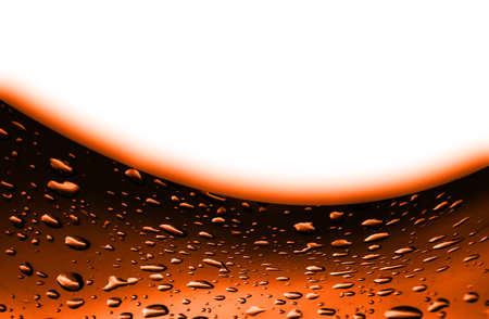 orange texture: abstract orange  texture  background with drop water