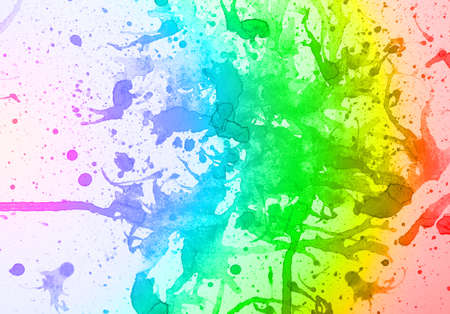multilayer: abstract  multicolor background  from water color Stock Photo