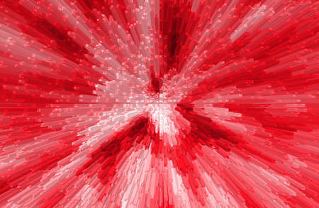 three dimension: abstract  red color   background with three dimension Stock Photo