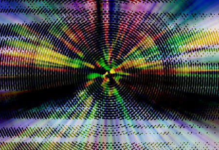 spin: abstract  multi  color background with spin radial motion blur Stock Photo
