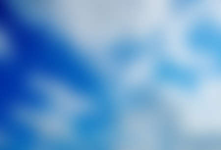 refreshed: abstract blue  color  background   with trendy health business website copy space Stock Photo