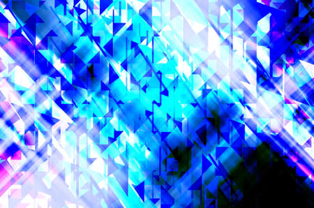 abstract  blue  color background with square pattern