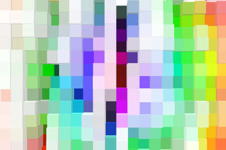 greem: abstract multicolor  background with square pattern