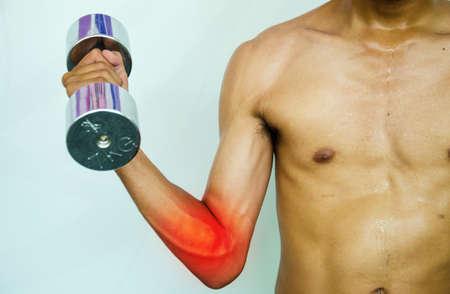codo: dolor en el codo FITMAN y las lesiones por ejercicio