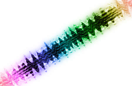 colores calidos: abstract  multicolor with motion blur on white  background
