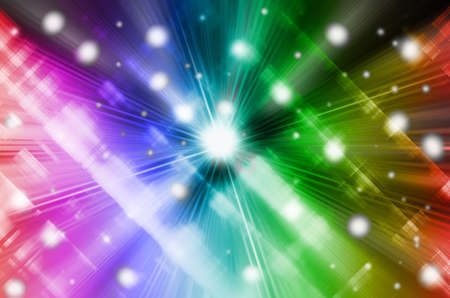 abstract multicolor  background with motion blur Stock Photo