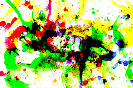 abstract multicolor background from water color for art background